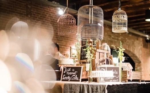Bruiloft decoratie in THC